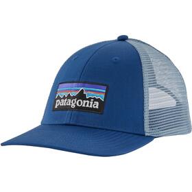 Patagonia P-6 Logo LoPro Gorra de Camionero, superior blue